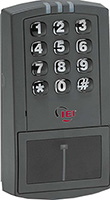 A keypad for a commercial lock sold by Optima Security, Inc. in Jacksonville, FL